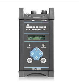 R&S®CTH100A/R&S®CTH200A 手持式模拟无线电测试仪