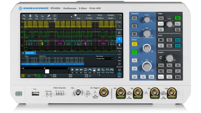 R&S®RTA4000 超大深存储示波器